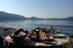 colazione  bed and breakfast il giardino sul lago